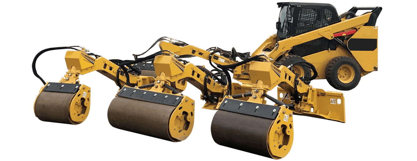 Road Widener Offset Vibratory Roller Product Line